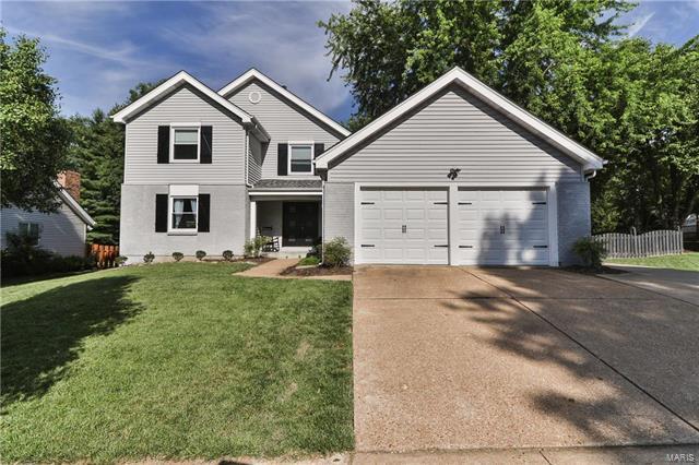660 Huntley Heights Drive, Ballwin, MO 63021 (#18001361) :: St. Louis Realty