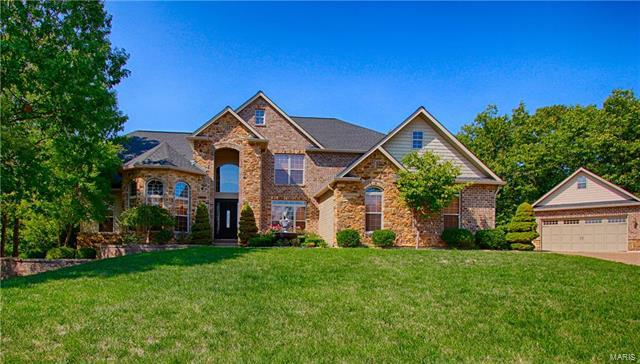 1027 Sycamore Creek Drive, Wentzville, MO 63385 (#18001678) :: St. Louis Realty