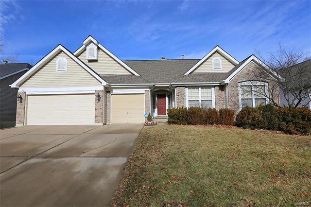 1181 Cypress Point Drive, O'Fallon, MO 63366 (#18001907) :: Kelly Hager Group   Keller Williams Realty Chesterfield