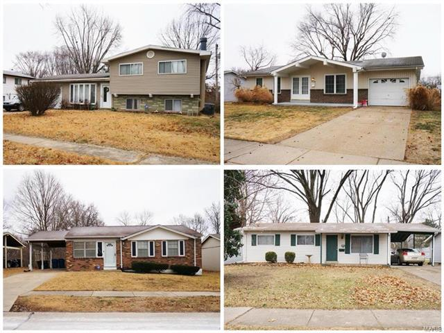 2522 Saddle Ridge, Florissant, MO 63031 (#18002564) :: Sue Martin Team