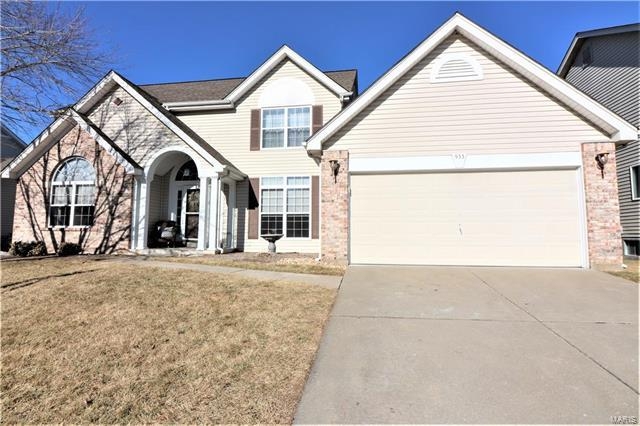 933 Emerald Oaks Court, Eureka, MO 63025 (#18002759) :: The Becky O'Neill Power Home Selling Team