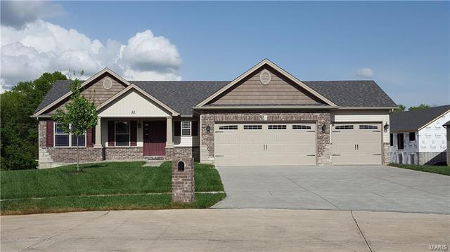0 Lot 554 Stone Ridge Canyon, Wentzville, MO 63385 (#18002927) :: Kelly Hager Group | Keller Williams Realty Chesterfield