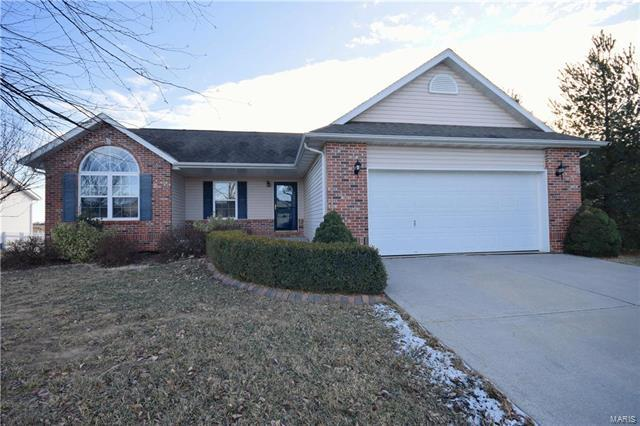 128 Shadowbrooke, Troy, IL 62294 (#18003154) :: Kelly Hager Group | Keller Williams Realty Chesterfield