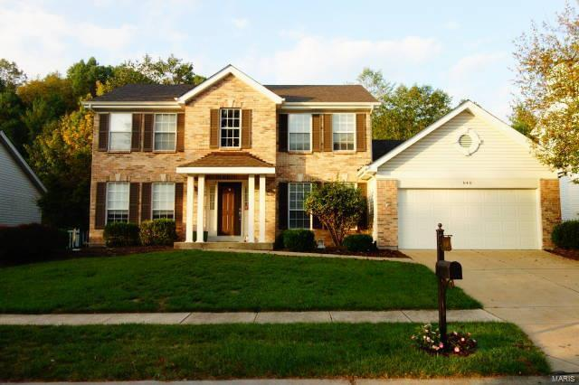 840 Kiefer Trails Drive, Ballwin, MO 63021 (#18003296) :: St. Louis Realty