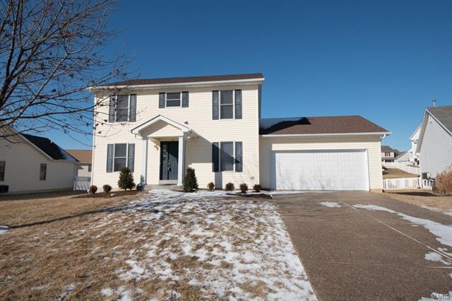 105 Denning Drive, Wentzville, MO 63385 (#18003440) :: St. Louis Finest Homes Realty Group
