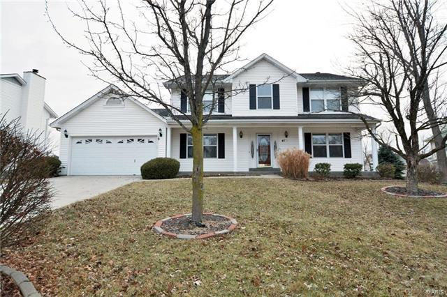 41 Georgetown Circle, O'Fallon, MO 63368 (#18003457) :: St. Louis Finest Homes Realty Group