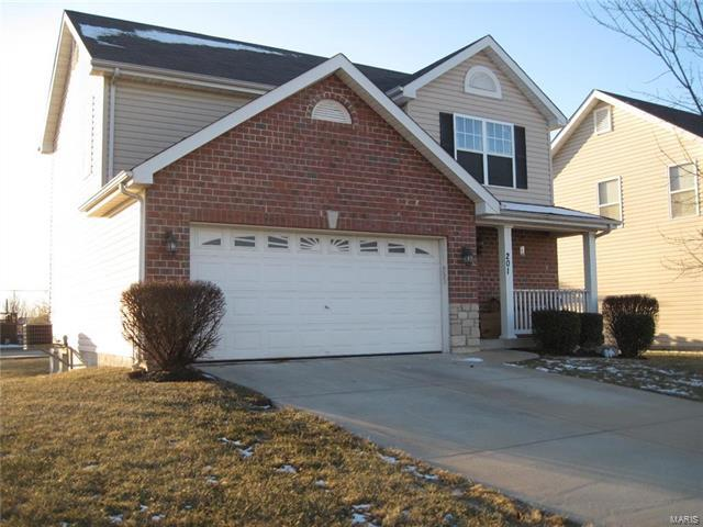 201 Stone Run Boulevard, Wentzville, MO 63385 (#18003491) :: St. Louis Finest Homes Realty Group
