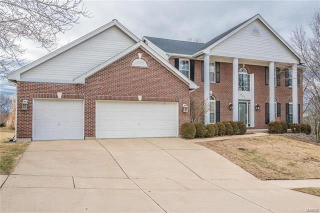 201 Turnberry Place Drive, Ballwin, MO 63011 (#18004057) :: Barrett Realty Group