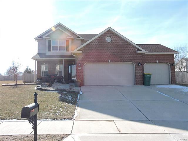 776 Merrifields Drive, O'Fallon, IL 62269 (#18004106) :: Clarity Street Realty