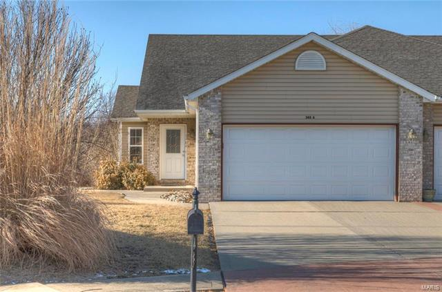 348 Jarvis Court A, Troy, IL 62294 (#18006245) :: Fusion Realty, LLC