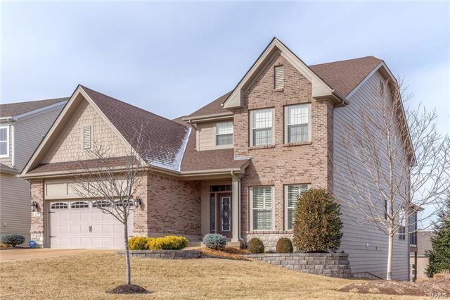 421 Maple Rise Path, Chesterfield, MO 63005 (#18006418) :: Clarity Street Realty