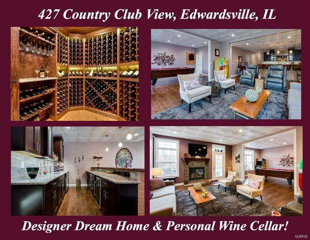 427 Country Club View Drive, Edwardsville, IL 62025 (#18006601) :: Clarity Street Realty