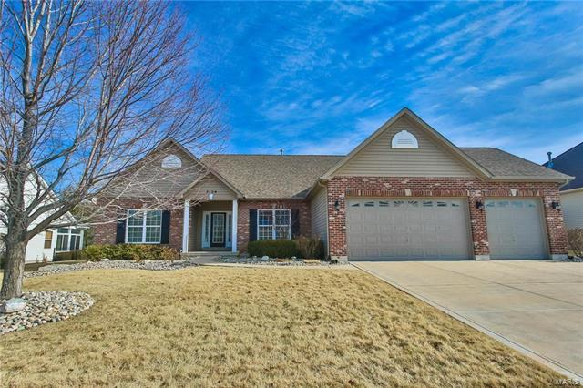 3104 Bear View Court, Wentzville, MO 63385 (#18006791) :: Clarity Street Realty