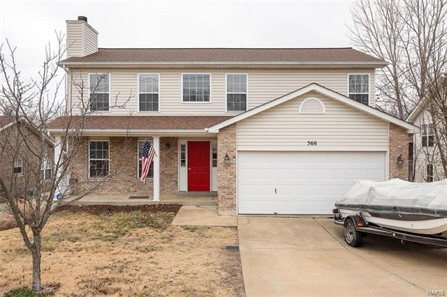 566 Great Plains Drive, House Springs, MO 63051 (#18007309) :: Clarity Street Realty