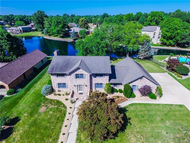 18 Lake Lorraine, Swansea, IL 62226 (#18008630) :: Holden Realty Group - RE/MAX Preferred