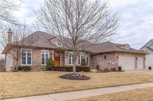3105 Bear View Court, Wentzville, MO 63385 (#18009239) :: Clarity Street Realty