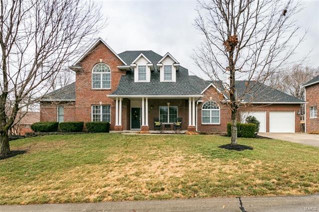 7 Hickory Lane, Columbia, IL 62236 (#18009985) :: Sue Martin Team