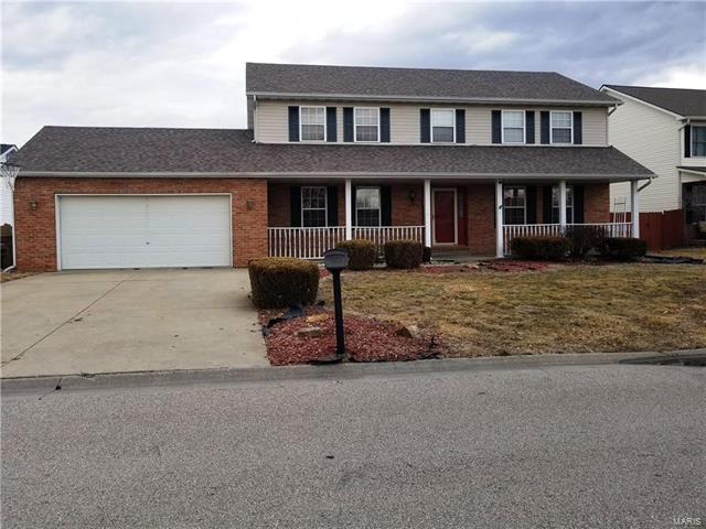 1439 Thunderbird Lane, Belleville, IL 62221 (#18010035) :: Clarity Street Realty