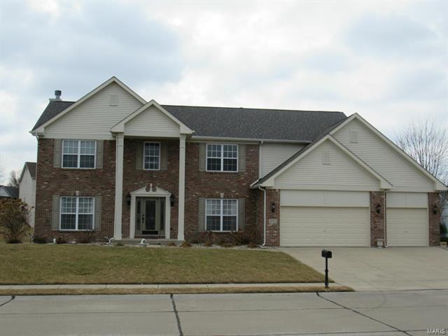 1045 Oxford Hill Road, O'Fallon, IL 62269 (#18010095) :: Fusion Realty, LLC