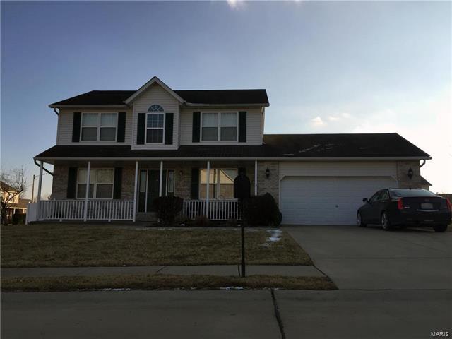 323 Moultrie Lane, O'Fallon, IL 62269 (#18010579) :: Fusion Realty, LLC