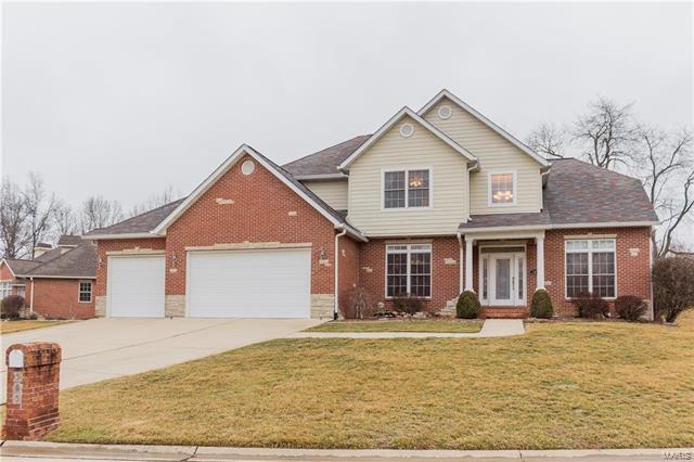 505 Raven Grove, Shiloh, IL 62221 (#18010629) :: Fusion Realty, LLC