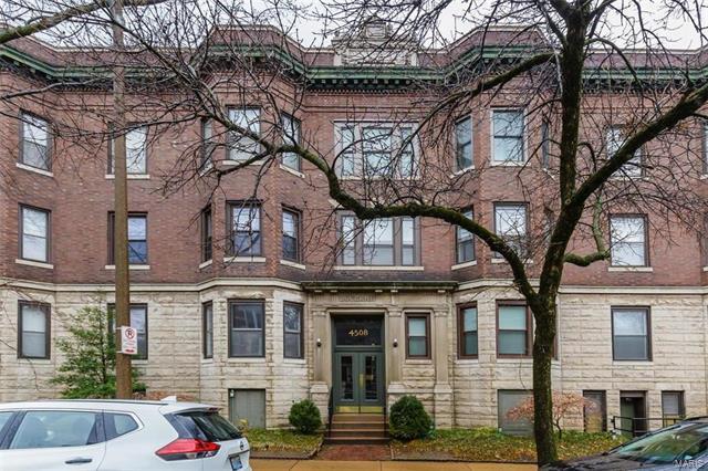 4508 Mcpherson Avenue 2W, St Louis, MO 63108 (#18011003) :: Clarity Street Realty