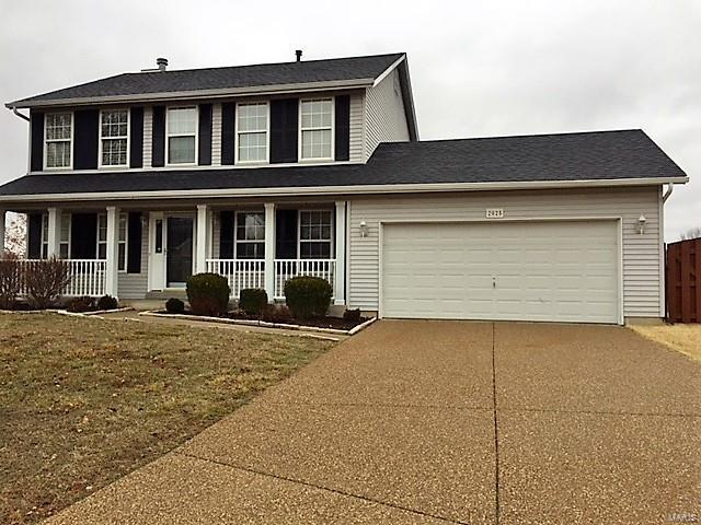 2025 Willowshade Court, Saint Peters, MO 63376 (#18011091) :: Clarity Street Realty