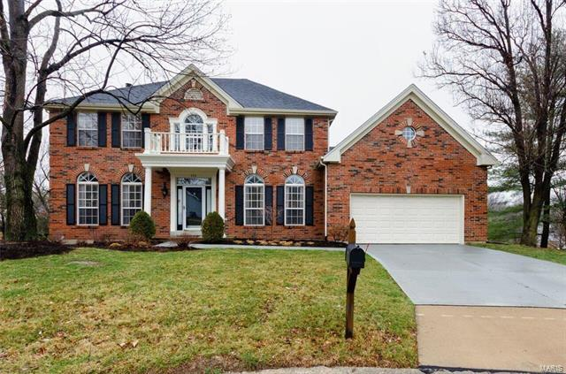 402 Winding Oaks Court, Ballwin, MO 63021 (#18013546) :: Holden Realty Group - RE/MAX Preferred