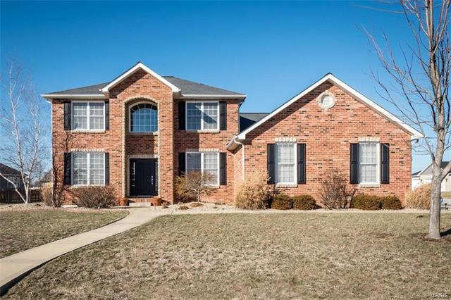 9735 Weatherby Street, Mascoutah, IL 62258 (#18013862) :: Fusion Realty, LLC