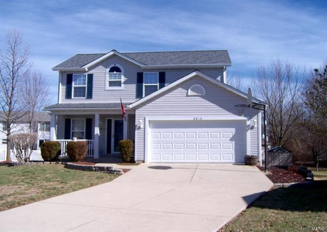 2616 Brookfield Ct, Columbia, IL 62236 (#18014600) :: Fusion Realty, LLC