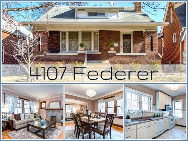 4107 Federer Street, St Louis, MO 63116 (#18014922) :: Clarity Street Realty