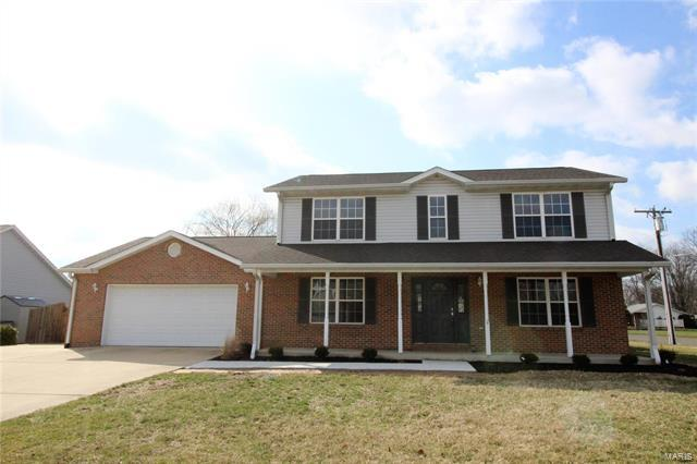 700 Mary Ann Court, Freeburg, IL 62243 (#18015488) :: Clarity Street Realty