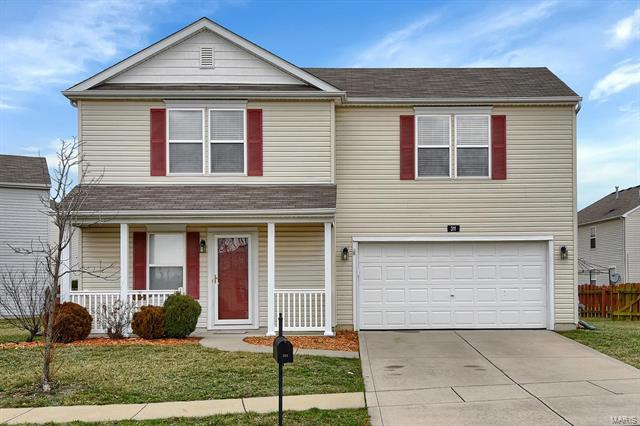 311 Falling Leaf, Mascoutah, IL 62258 (#18015571) :: Clarity Street Realty