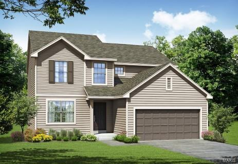 1 Tbb-Franklin@Pinewoods Estates, Wentzville, MO 63385 (#18016940) :: Barrett Realty Group