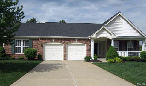 841 Waterford Villas Drive, Lake St Louis, MO 63367 (#18021566) :: Barrett Realty Group