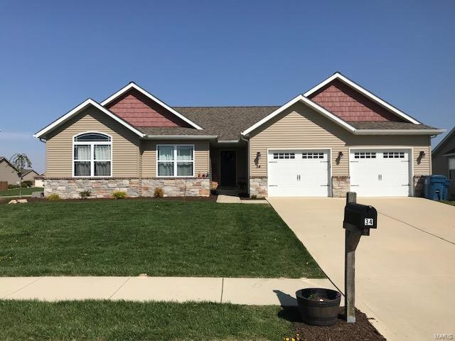 34 Meadowbrooke, Troy, IL 62294 (#18029918) :: Fusion Realty, LLC