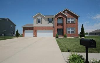 9711 Weatherby, Mascoutah, IL 62258 (#18031387) :: Fusion Realty, LLC