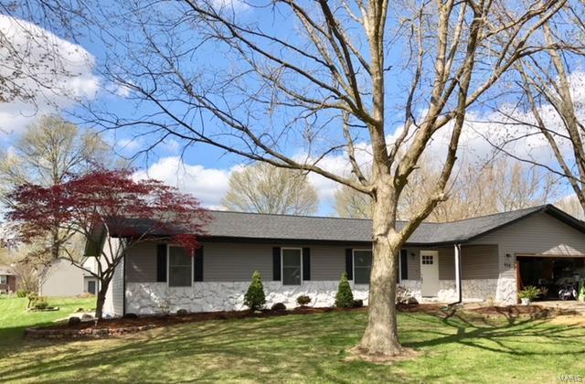 908 Cloverfield, Troy, IL 62294 (#18041966) :: PalmerHouse Properties LLC