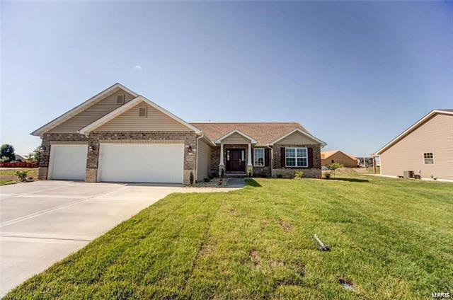 9722 Quapaw Court, Mascoutah, IL 62258 (#18042252) :: RE/MAX Professional Realty