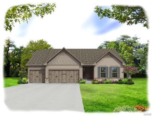4305 Hawkins Ridge (Lot 47) Drive, Oakville, MO 63129 (#18050760) :: PalmerHouse Properties LLC