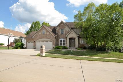 108 Fieldstone Estates, Wentzville, MO 63385 (#18057318) :: Kelly Hager Group | TdD Premier Real Estate