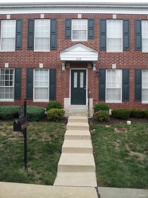 419 Parkview Place Drive, Ellisville, MO 63021 (#18059646) :: RE/MAX Vision