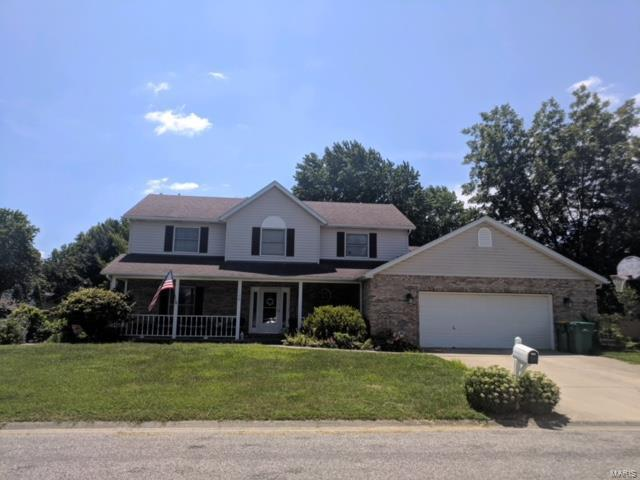 1126 Linden Place, Mascoutah, IL 62258 (#18060702) :: Holden Realty Group - RE/MAX Preferred