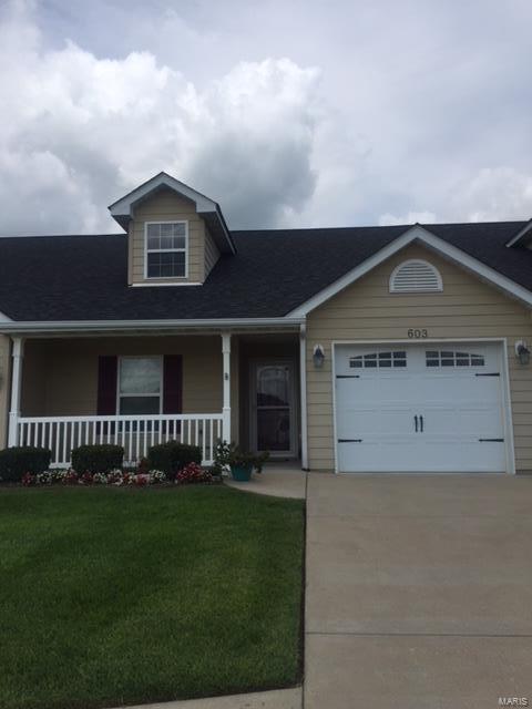 603 Hawk Nest #2, Union, MO 63084 (#18066204) :: PalmerHouse Properties LLC