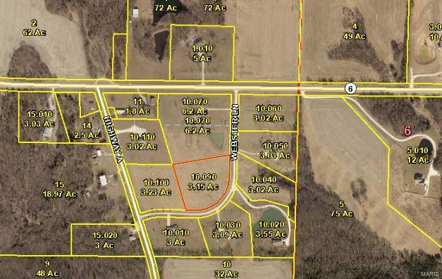 203 Webster Ln Lot 6, Taylor, MO 63471 (#18066779) :: Clarity Street Realty