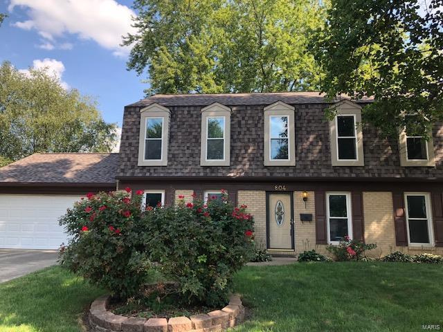 804 N Smiley Street, O'Fallon, IL 62269 (#18079080) :: Fusion Realty, LLC