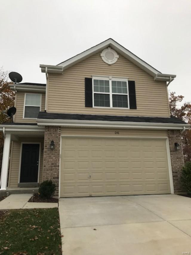 646 Fair Bluff, Wentzville, MO 63385 (#18090034) :: RE/MAX Vision