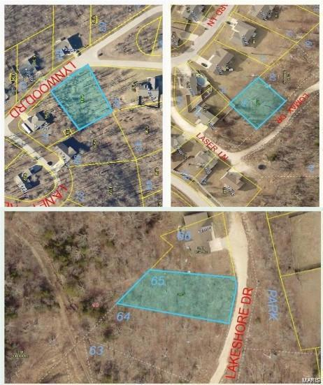 0 Lot 41B,59,65 Ridge Creek, Saint Robert, MO 65584 (#19014620) :: Realty Executives, Fort Leonard Wood LLC