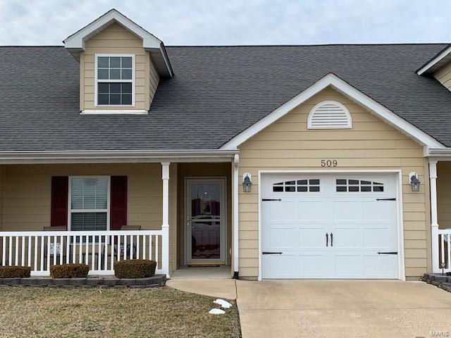 509 Hawk Nest #2, Union, MO 63084 (#19017763) :: Clarity Street Realty