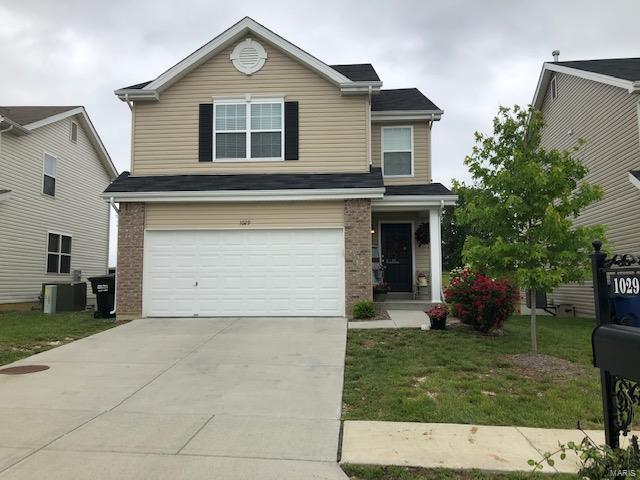 1029 Chesterfield Drive, Wentzville, MO 63385 (#19037871) :: Kelly Hager Group | TdD Premier Real Estate